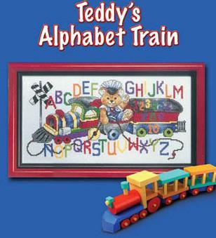 Le train alphabet de Teddy