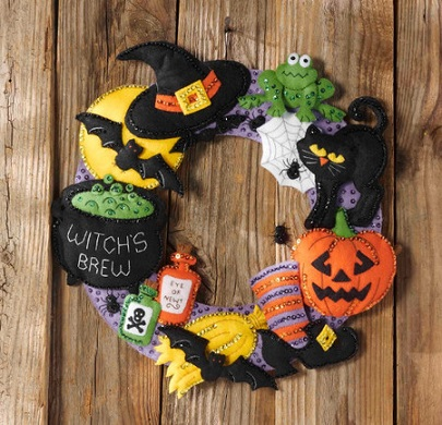 Couronne Dhalloween Iza Broderie
